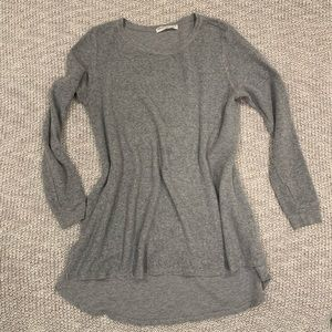 Project Social T Long Sweatshirt with Side Slits